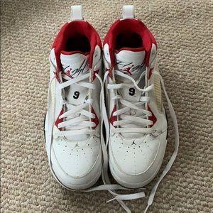 Barely worn Air Jordan's